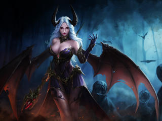 Demon Woman wallpaper