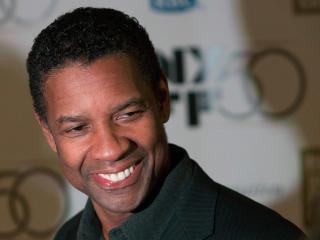 Denzel Washington Smile Pic wallpaper
