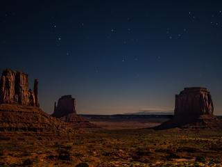 Desert Starry Night wallpaper