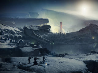 Destiny 2 Shadowkeep Environment wallpaper