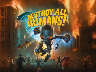 Destroy All Humans Game wallpaper