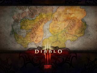 diablo 3, map, name wallpaper
