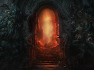 Diablo 4 Hell Gate wallpaper