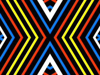 Diagonal Colorful Stripes Art wallpaper