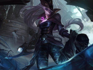 Diana League Of Legends wallpaper
