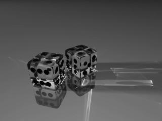 dice, dots, glass wallpaper