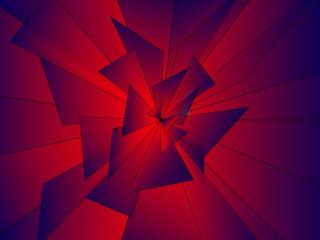 Digital Cool Geometry Shapes Art wallpaper