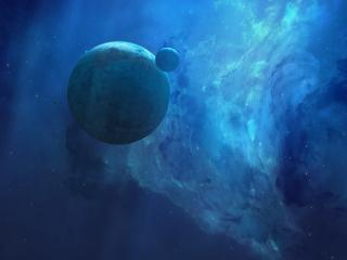 HD Wallpaper | Background Image Digital Surreal Planets
