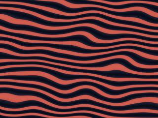 Digital Wave Abstract Art wallpaper