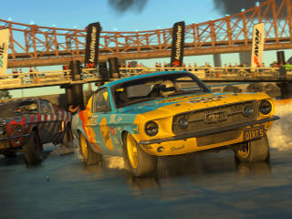 DiRT 5 Ford Mustang wallpaper