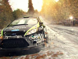 dirt showdown, car, road wallpaper