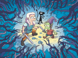 Disenchantment Poster wallpaper