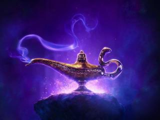Disney Aladdin 2019 Movie Poster wallpaper