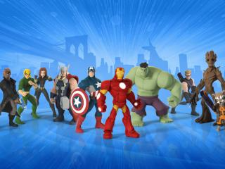 HD Wallpaper | Background Image Disney Infinity All Marvel Super Heroes
