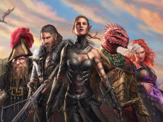 Divinity Original Sin 2 Artwork wallpaper