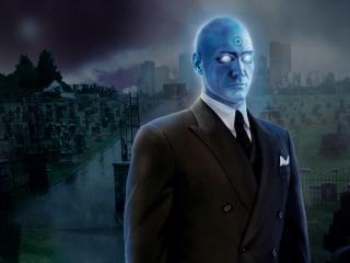 Doctor Manhattan in Watchmen wallpaper