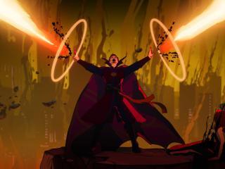 Doctor Strange Supreme What If wallpaper