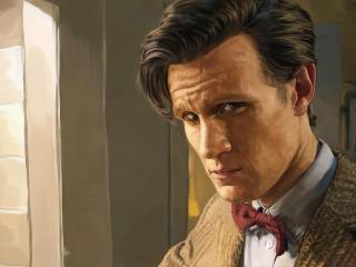 doctor who, eleventh doctor, matt smith wallpaper