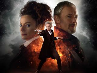 Doctor Who, John Simm, Peter Capaldi, Twelfth Doctor, Michelle Gomez wallpaper