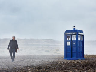 Doctor Who Peter Capaldi as 12th Doctor wallpaper