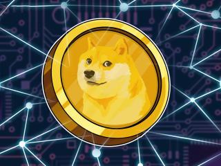 Dogecoin Math Art wallpaper