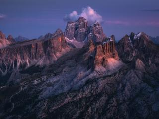 Dolomites Italy Mountains wallpaper