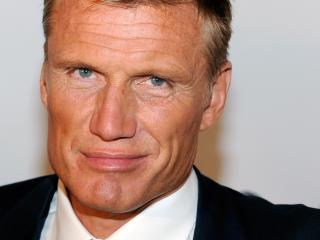 dolph lundgren, face, smile wallpaper
