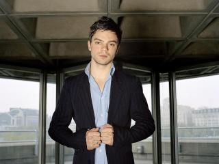 dominic cooper, brown hair, style wallpaper