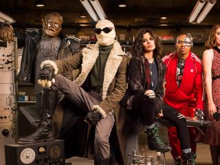 Doom Patrol Team wallpaper