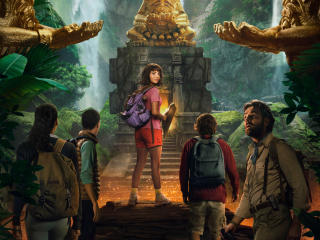 Dora and the Lost City of Gold Movie Poster wallpaper