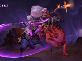 Dota 2 The Outlanders wallpaper