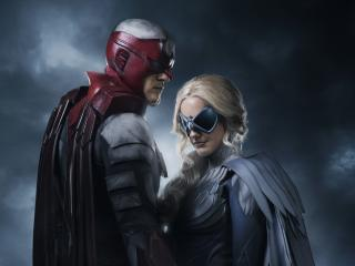 Dove and Hawk in Titans (TV Show) wallpaper