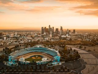 downtown, los angeles, usa wallpaper
