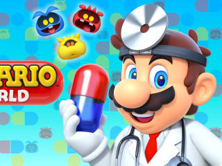 Dr. Mario World Android iOS wallpaper