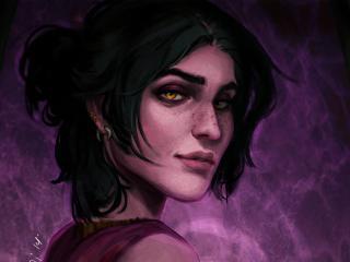 Dragon Age Girl Art wallpaper