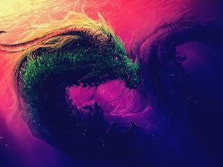 Dragon Artwork 4K wallpaper