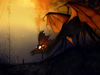 Dragon Artwork Fantasy wallpaper