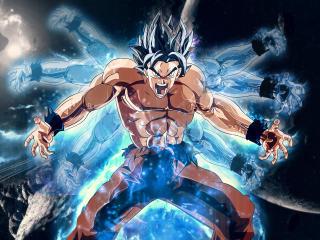 Dragon Ball Super Goku Angry wallpaper
