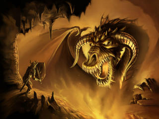 Dragon In Neverwinter Nights wallpaper