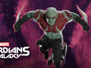 Drax The Destroyer Guardians Of The Galaxy Gaming wallpaper
