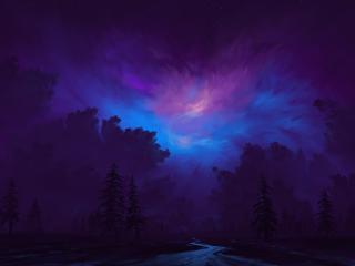 Dreamy Night wallpaper
