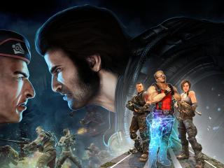Duke Nukems Bulletstorm wallpaper
