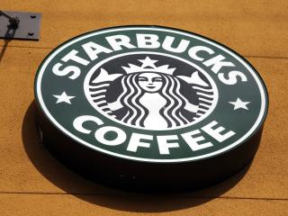 dumb starbucks, starbucks, logo wallpaper