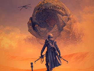 Dune HD 2021 Movie Poster wallpaper