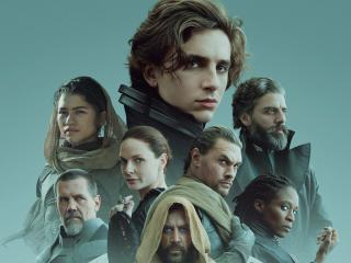 Dune Movie All Cast Poster wallpaper