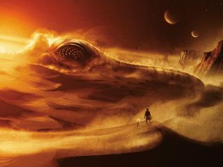 Dune Movie Concept Art 2020 wallpaper