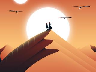 Dune Movie Cool FanArt wallpaper