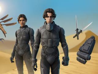 Dune Movie x HD Fortnite Chapter 2 wallpaper