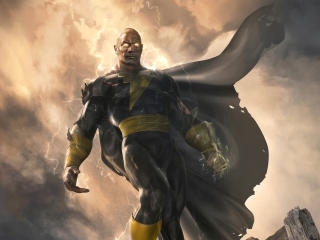 Dwayne Johnson As Black Adam wallpaper