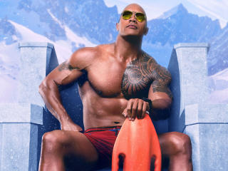 Dwayne Johnson Baywatch wallpaper